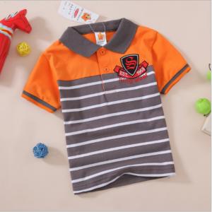 Orange Kids Polo