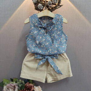 2 pc girls tops and bottoms (2)