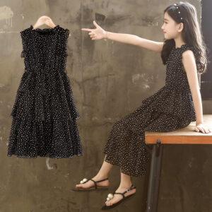 Black fancy dress for girls