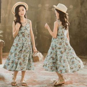Cotton Long Summer Delight Frock (4)