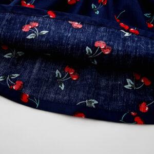 Cotton Sleeveless Printed Cherry Frock (3)
