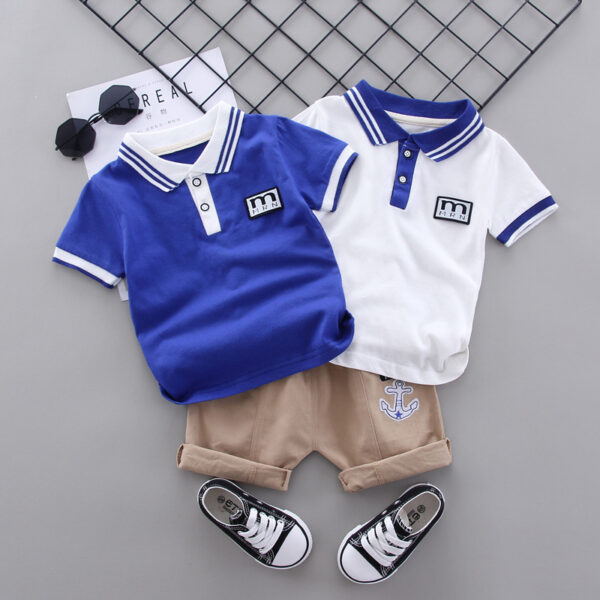 Polo Shirt WIth Shorts (1)