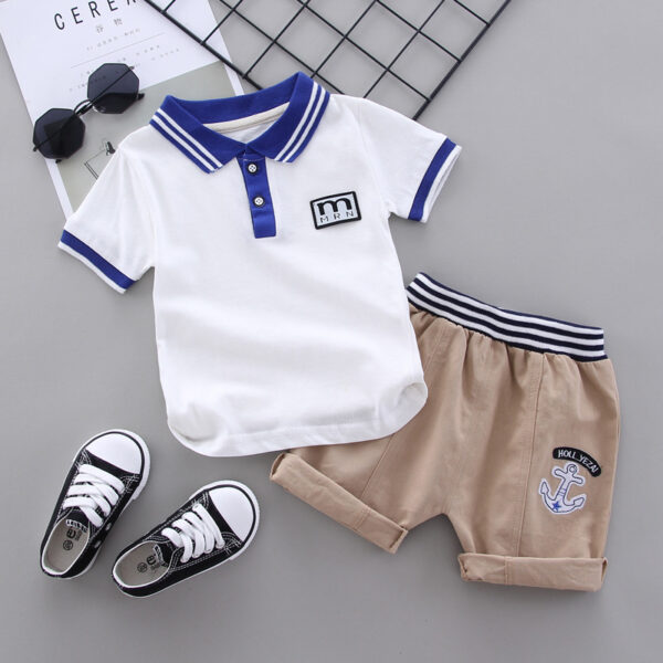 Polo Shirt WIth Shorts (3)