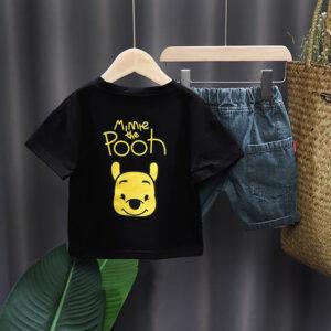 Pooh Crew Shirt & Denim Shorts (3)