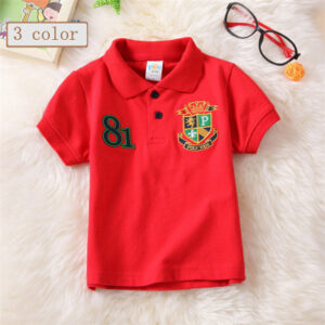 Royal Cotton Polo Shirt With Embroidered Chest (2)