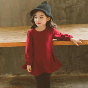 Single Jersey Velvet Royal Red Shirt (2)