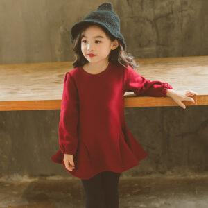 Single Jersey Velvet Royal Red Shirt (2)