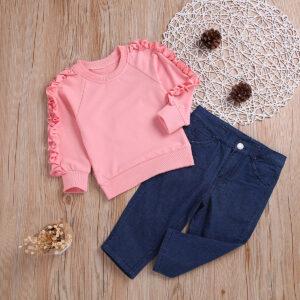 Sweat Shirt & Denim Pants (3)