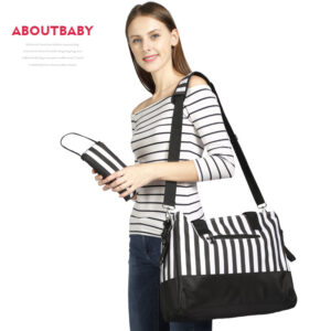 Black & White Mommy Bag