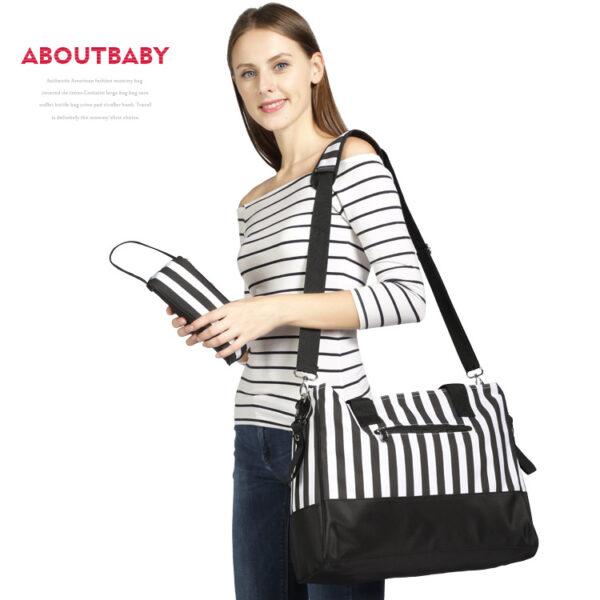 Black & White Mommy Bag