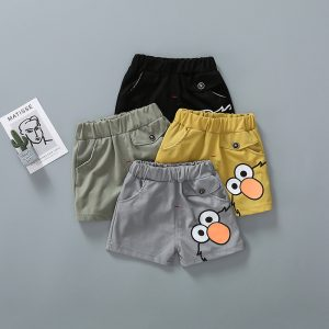 Twill Cotton Shorts for Kids